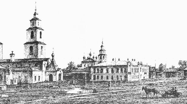 Дом Матрёны Кореповой