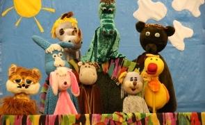 Театр кукол. Репертуар на октябрь