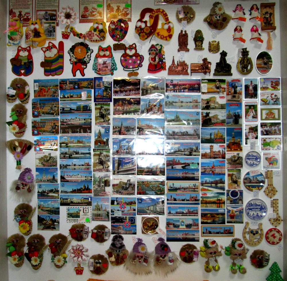 Сувениры в Йошкар-Оле - телефоны, адреса магазинов на