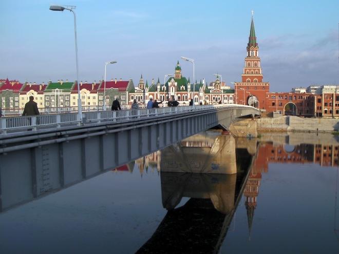 Йошкар-Ола. Театральный мост. Фото: Владимир Горбунов